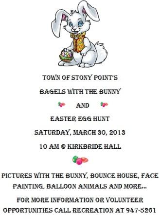 bagels with the bunny